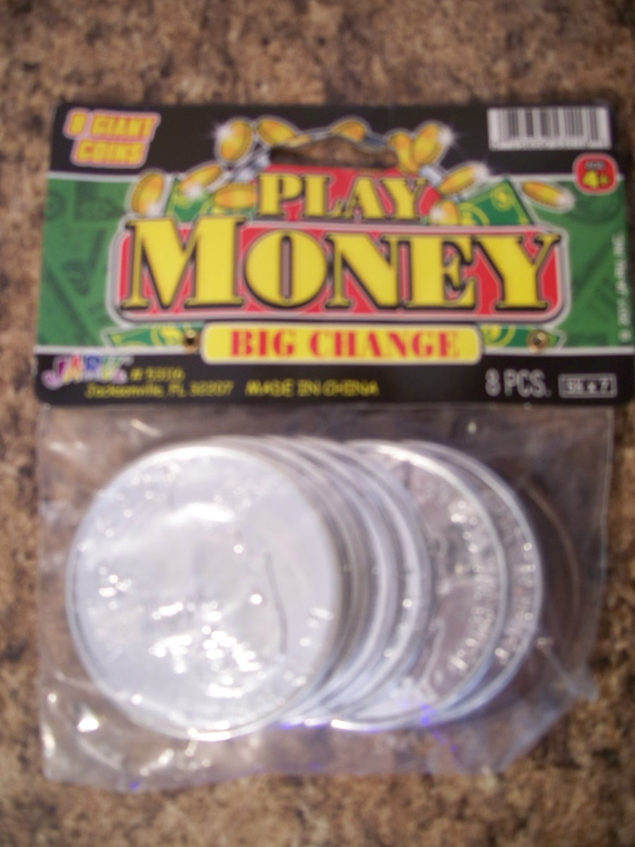 Play Money (giant coins)